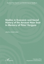 Első borító: Studies in Economic and Social History of the Ancient Near East in Memory of Péter Vargyas